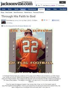 Tim Callahan on Jacksonville.com